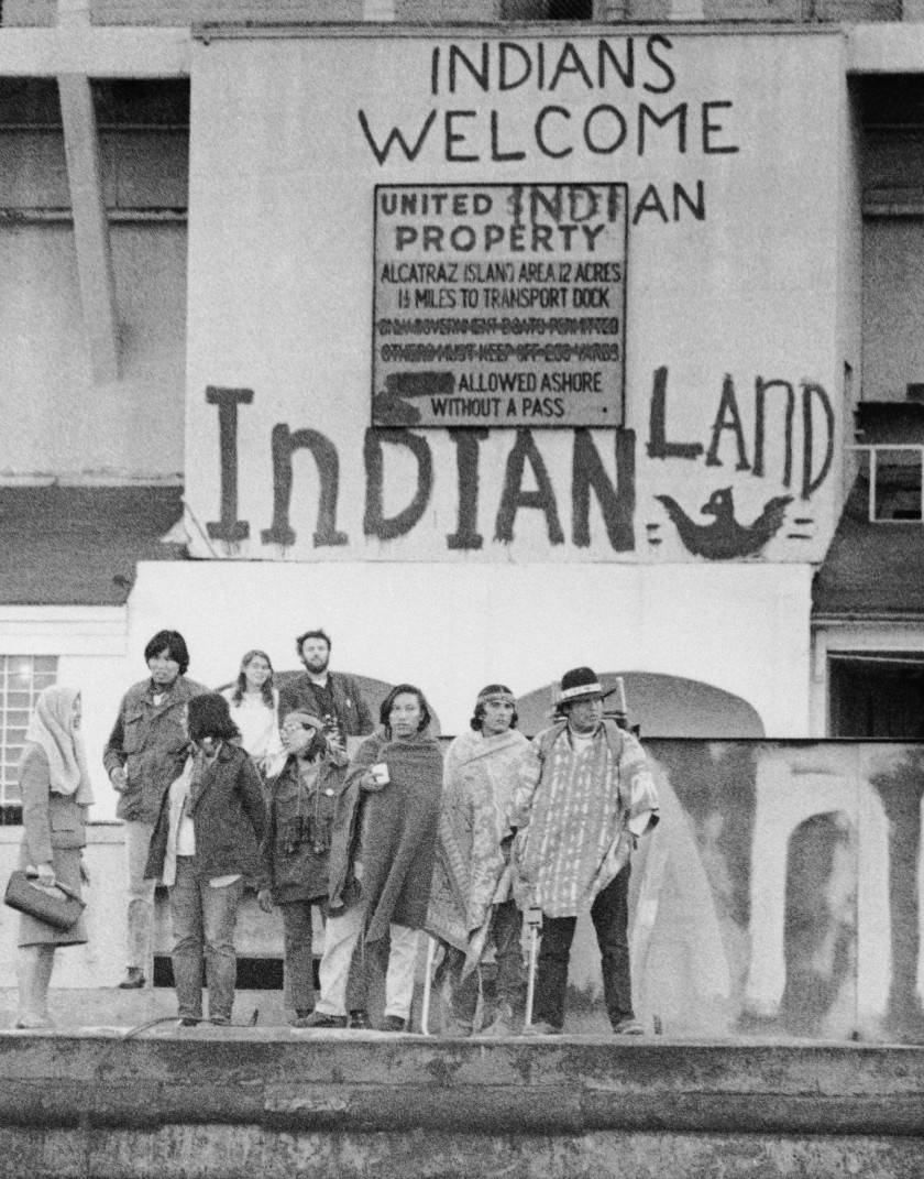 Native occupation of Alcatraz